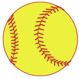 Image result for softball clipart transparent