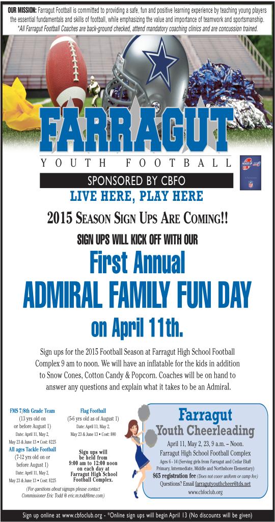 2015 CBFO Football flyer